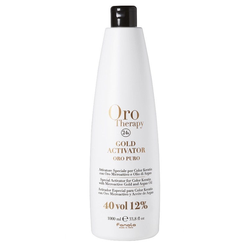 Oro Therapy Oxydant 40 volumes Gold Activator 1000ML, Oxydant