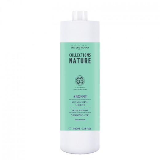 Eugène Perma Shampooing argent Collections Nature 1000ML, Shampoing naturel