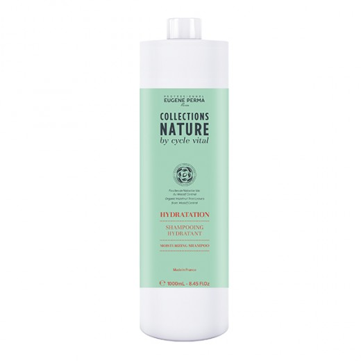 Eugène Perma Shampooing hydratant Cycle Vital 1000ML, Shampoing naturel