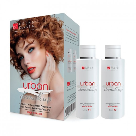Urban Keratin Kit démaquillant capillaire Urban Demak'Up 250ML, Décoloration