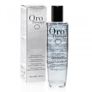 Oro Therapy Fluide régénerant cheveux sensibilisés et stressés Diamante Puro 100ML, Sérum