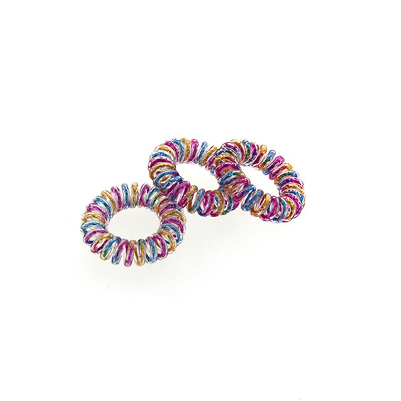 Coiffeo Hair ring Set x3 Multicolore, Elastique