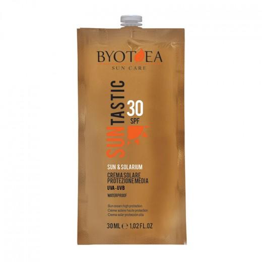 Byotea Crème solaire waterproof SPF30 haute protection 30ML, Solaire