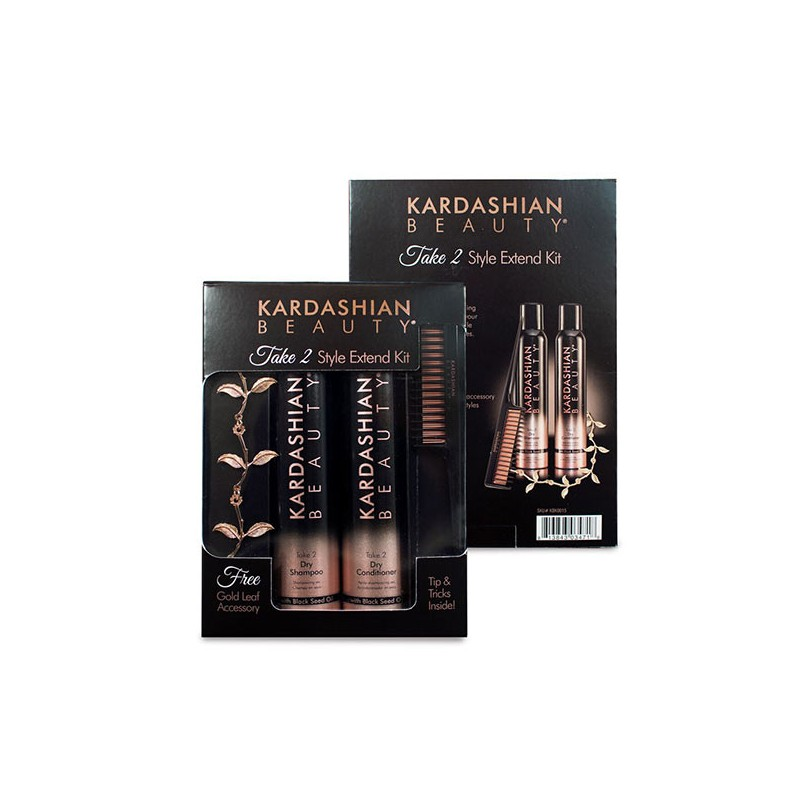 Kardashian Beauty Take 2 Style extend Kit, Après-shampoing avec rinçage