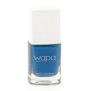 Wapa Vernis à ongles séchage rapide Bleu denim 804 12ML, Vernis à ongles couleur