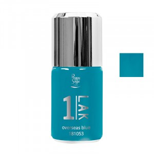 Vernis semi-permanent 1-LAK Summer - Overseas blue