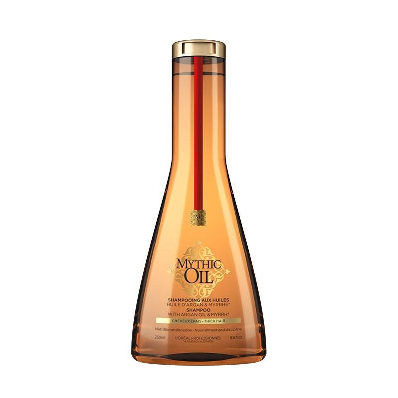 L'Oréal Professionnel Shampoing aux huiles cheveux épais Mythic Oil 250ML, Cosmétique