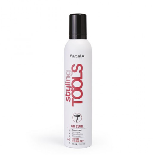 Fanola Mousse boucles Styling Tools 300ML, Mousse coiffante