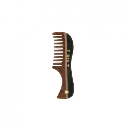 Pure Men Tolerance Peigne Pocket à manche barbe & moustache 7.5cm, Peigne barbe