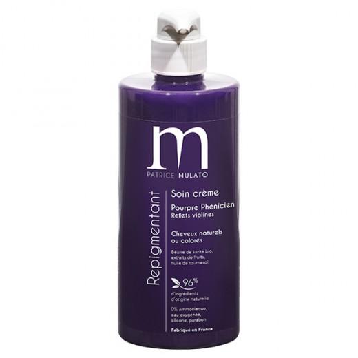 Mulato Soin Repigmentant Pourpre phenicien 500ML, Après-shampoing naturel