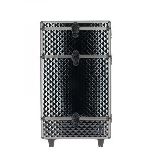 7eme élément Valise professionnelle damier Noir 43x23x72cm, Bagagerie