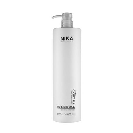 Nika Après-shampoing lissant Moisture Lock - Fairy Silk 1000ML, Après-shampoing avec rinçage