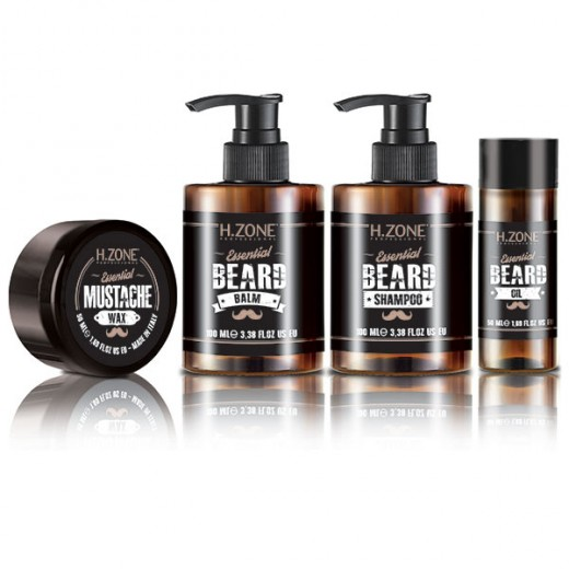 Kit barbe et moustache H.zone