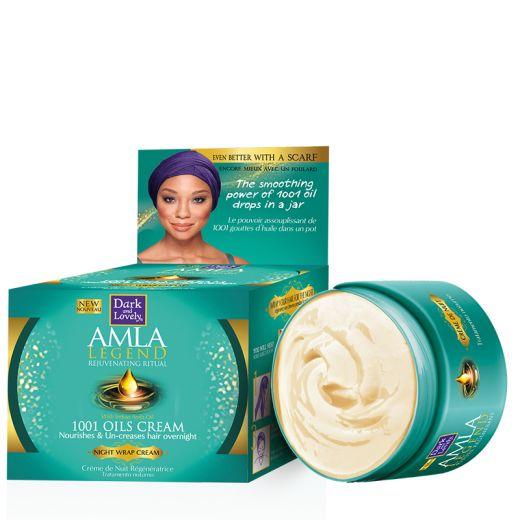 Soft Sheen.Carson Masque de nuit 1001 huiles Amla Legend 150ML, Masque cheveux
