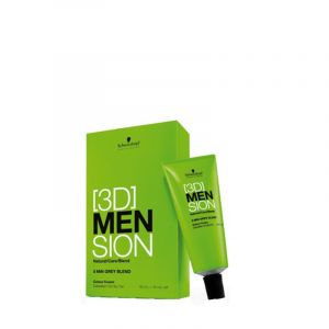 Schwarzkopf Kit de coloration 8-01 Homme - 3DMension, Coloration d'oxydation