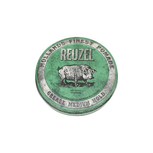 Reuzel Cire pour cheveux fixation moyenne - Green grease pomade 340g, Cire
