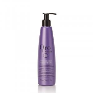 Oro Therapy Conditionneur cheveux décolorés Zaffiro Puro 300ML, Après-shampoing avec rinçage
