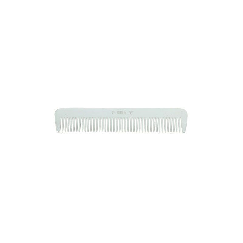 Pure Men Tolerance Peigne à barbe démêloir en aluminium 12cm, Peigne barbe