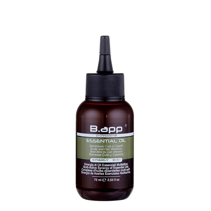 B-App Complexe multi-actif aux huiles essentielles Synergy 75ML, Cure