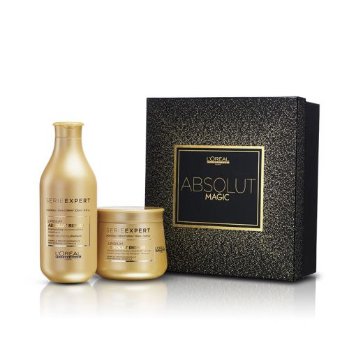 Coffret Absolut Magic (1 shampooing & 1 masque Repair Lipidium)