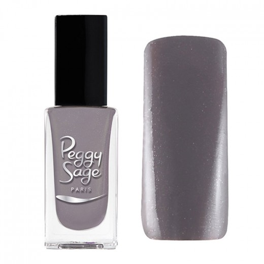 Peggy Sage Vernis à ongles Pailleté Splendid grey 11ML, Vernis à ongles couleur