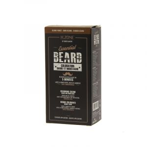H.Zone professional Teinture barbe et moustache Kit Blond foncé 60ML, Teinture barbe