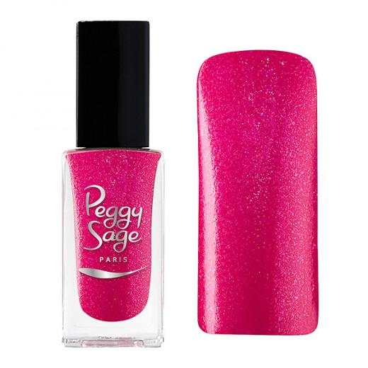 Peggy Sage Vernis à ongles Pailleté Very rosy 11ML, Vernis à ongles couleur