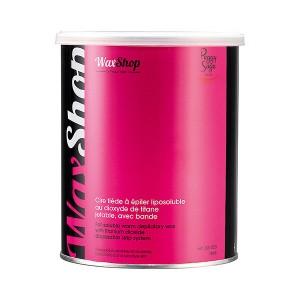 Peggy Sage Cire tiède à épiler liposoluble Rose titane 800ML, Pot de cire