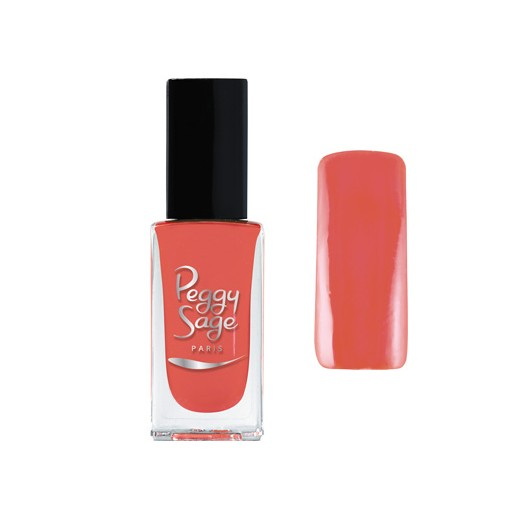 Vernis à ongles fresh corail peggy sage 11ml