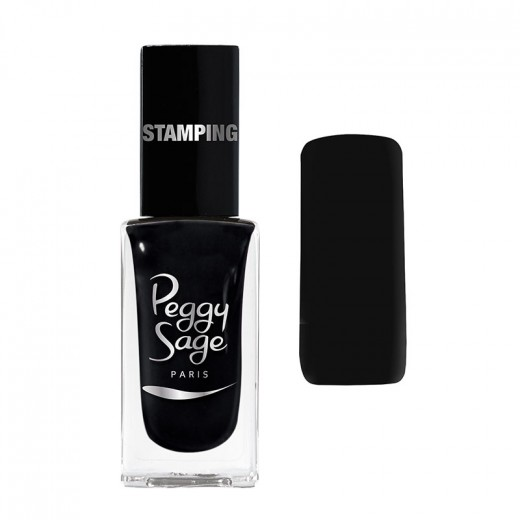 Vernis à ongless stamping noir peggy sage 11ml