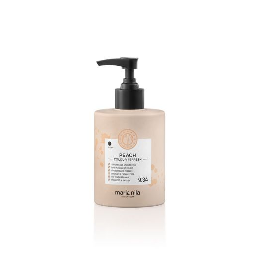 Maria Nila Masque repigmentant Colour refresh 9.34 Peach 300ML, Après-shampoing repigmentant
