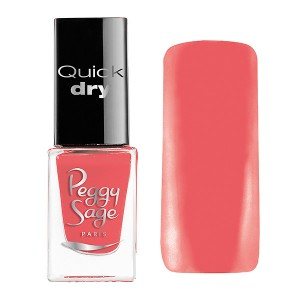 Peggy Sage Mini vernis à ongles Quick Dry Emma 5ML, Vernis à ongles couleur
