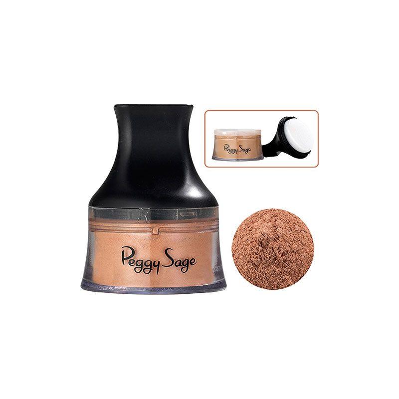 Peggy Sage Poudre minérale Beige miel 9g, Poudre