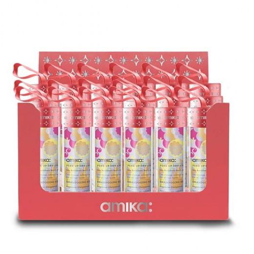Amika Présentoir de 24 shampooings sec Perk Up Dry 1052ML, Présentoir produits