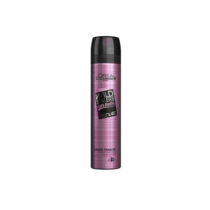 L'Oréal Professionnel Spray de finition Savage Panache Wild Stylers Tecni Art 250ML, Spray cheveux