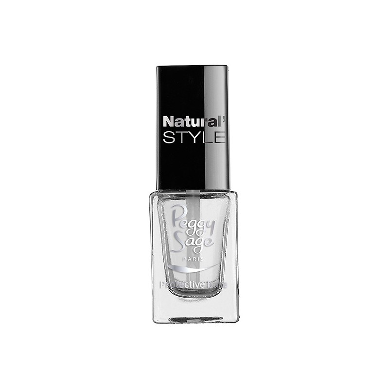 Peggy Sage Base protectrice Natural'Style 5ML, Top & base coat