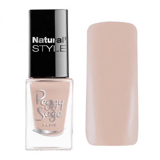 Peggy Sage Mini vernis à ongles Natural'Style Agathe 5ML, Vernis à ongles couleur