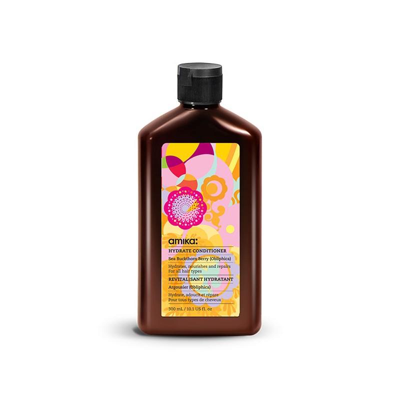 Amika Après-shampooing hydratant Hydrating Conditioner 300ML, Après-shampoing avec rinçage