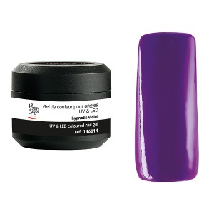 Peggy Sage Gel de couleur UV & LED Technigel Color It Hypnotic violet 5g, Gel couleur