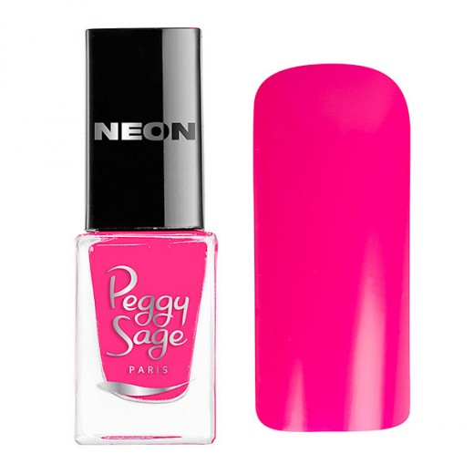 Peggy Sage Mini vernis à ongles Perfect Lasting Néon Amanda 5ML, Vernis à ongles couleur
