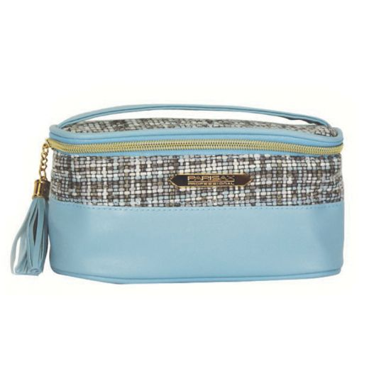 Parisax Mini vanity Bleu 20x10x10cm, Trousse maquillage