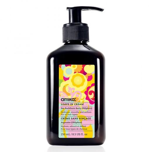 Amika Crème sans rinçage Leave In Cream 250ML, Crème cheveux sans rinçage