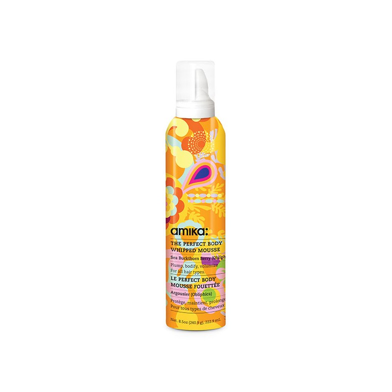 Amika Mousse The Perfect Body Whipped Mousse 232ML, Mousse coiffante