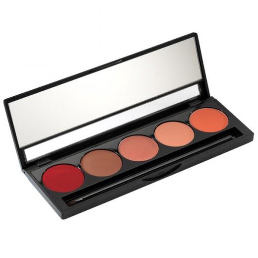 Palette rouges à lèvres tons chauds 5x1.5g