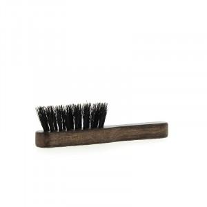 Pure Men Tolerance Mini brosse moustache en bois d'hêtre et poils de sanglier, Peigne barbe