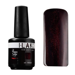 Peggy Sage Vernis semi-permanent I-Lak Red vertigo 15ML, Vernis semi-permanent couleur