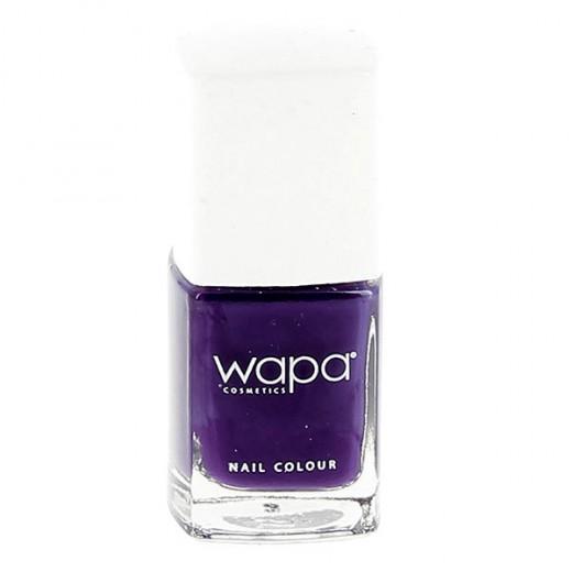 Wapa Vernis à ongles séchage rapide Violet indigo 501 12ML, Vernis à ongles couleur