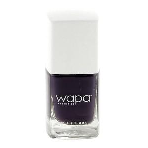 Wapa Vernis à ongles séchage rapide Violet aubergine 811 12ML, Vernis à ongles couleur