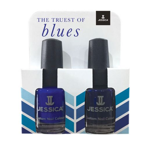 Kit 2 vernis à ongles Custom colour - The truest of Blues