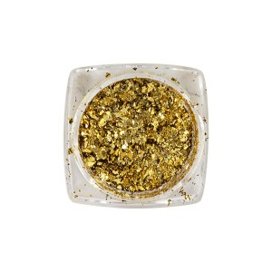 Peggy Sage Pigments Flakes pour ongles 1g Gold, Pigment Nail Art